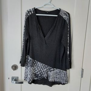 Cable & Gauge long sleeve top